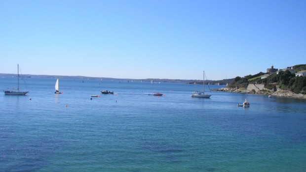 St Mawes in April