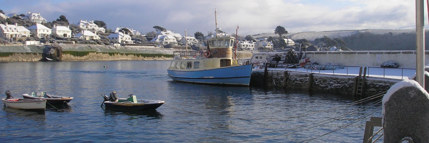 St Mawes Ferry Snow